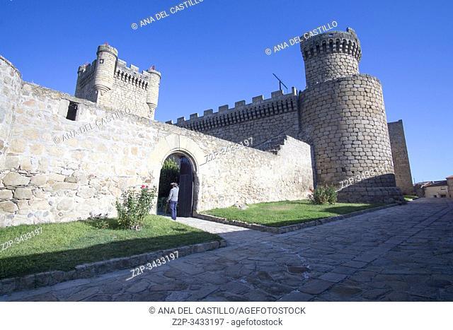 Oropesa in Toledo province, Castile La Mancha, Spain: The state run hotel in the Oropesa palace
