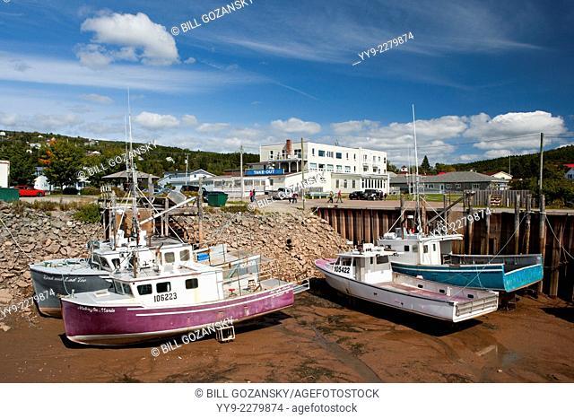 Alma Harbour - Alma, New Brunswick, Canada