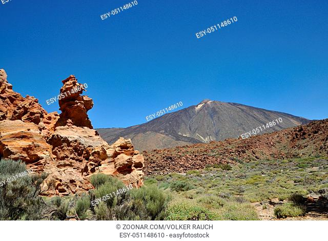 Piedras Amarillas, Teneriffa, Piedras, teide, pico del teide, Amarillas, ROQUES CAPRICHO, teide-nationalpark, canadas, felsen, fels, felsgruppe, geologie