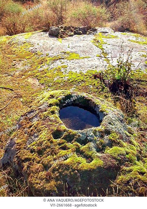 Cerro La Cabeza, near Escurial, Cáceres province, Extremadura, Spain