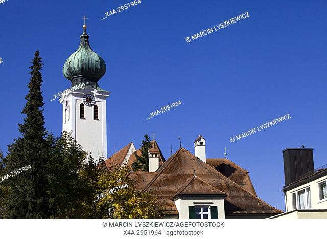 St. Mary's Church, Ramersdorf, Munich, Germany