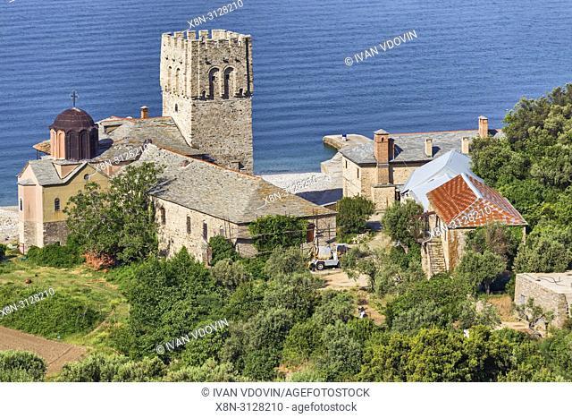 Zograf Monastery, Saint George the Zograf Monastery, Zografou, Mount Athos, Athos peninsula, Greece