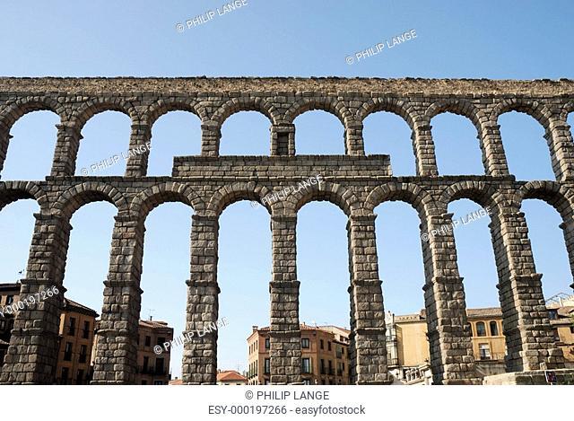 Römisches Aquädukt von Segovia, Spanien