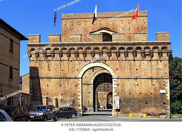 Italy, Tuscany, Siena, Porta Pispini