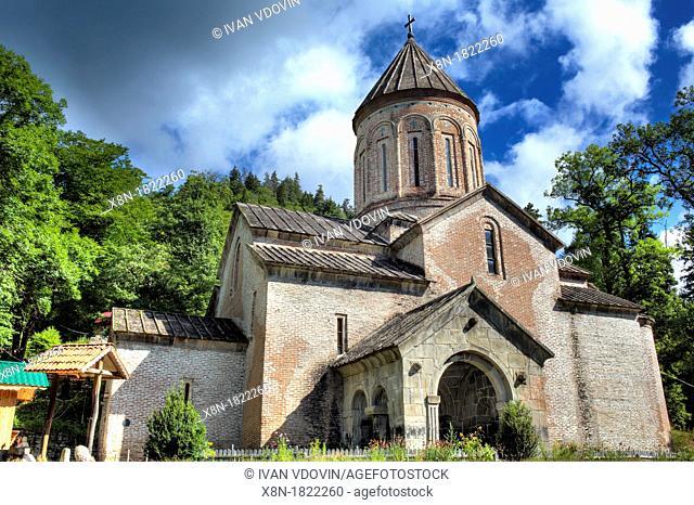 Church of the Dormition 13th century, Timotesubani, Samtskhe-Javakheti, Georgia