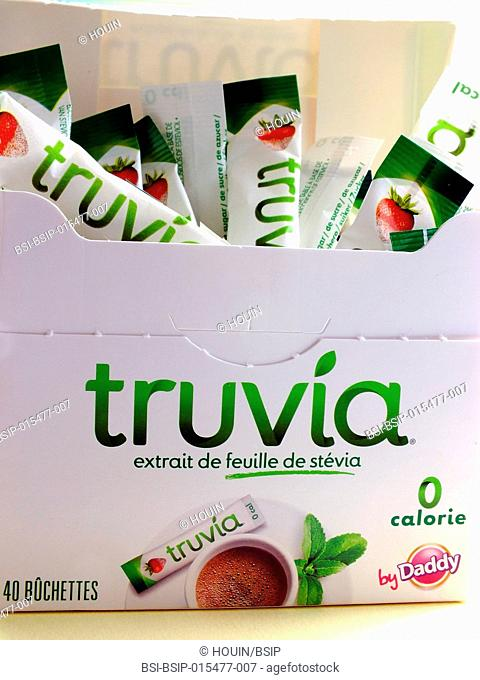 A stevia-based sweetener (from the stevia leaf)