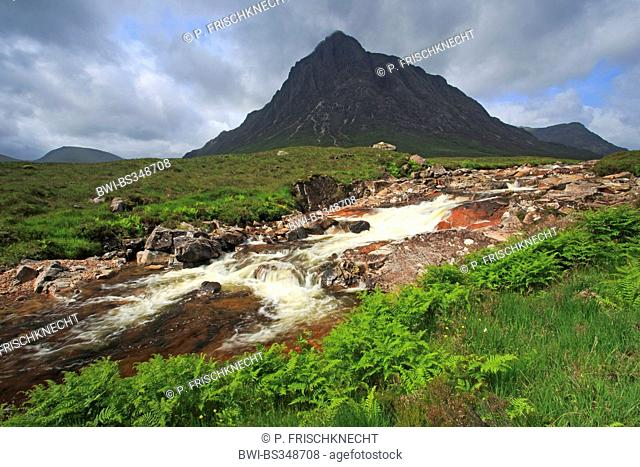 Stob Dearg Buachaille Etive Mor, United Kingdom, Scotland, Glencoe