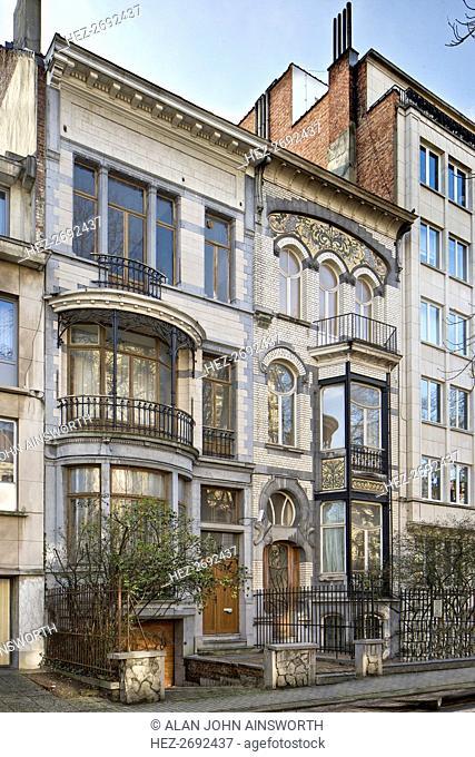 29 & 31 Avenue Winston Churchill, Brussels, Belgium, c2014-c2017. Artist: Alan John Ainsworth