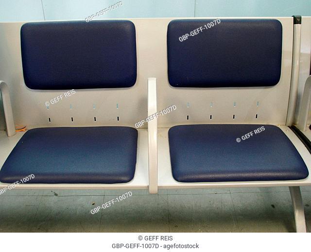 Bench, Congonhas airport, São Paulo, Brazil
