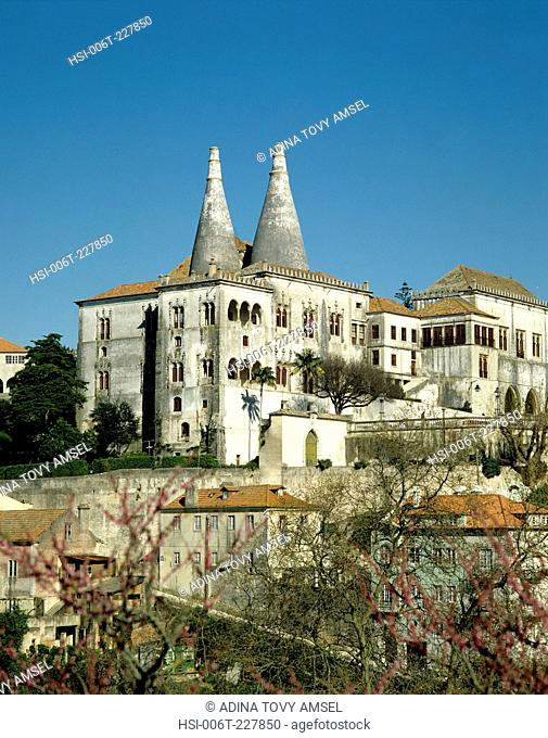 Portugal. Sintra. National Palace