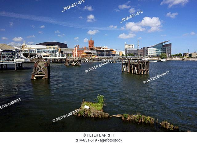 Mermaid Quay, Cardiff Bay, South Glamorgan, Wales, United Kingdom, Europe