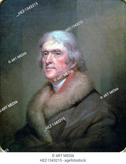 'Thomas Jefferson', 1805