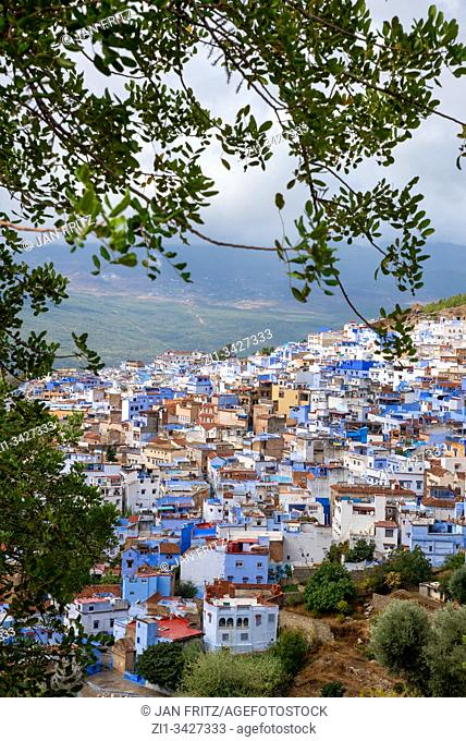 view at Chefchaouen in Maroc
