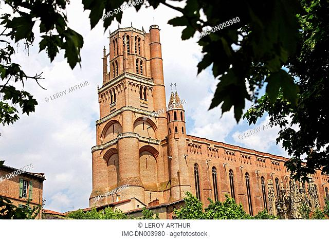 France, Languedoc, Albi, cathedral of Saint cecile