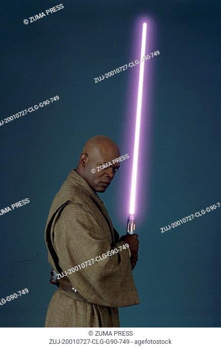 Jul 27, 2001; Los Angeles, CA, USA; SAMUEL L. JACKSON stars as Mace Windu a powerful jedi knight in 'Star Wars Episode 2: Attack of the Clones
