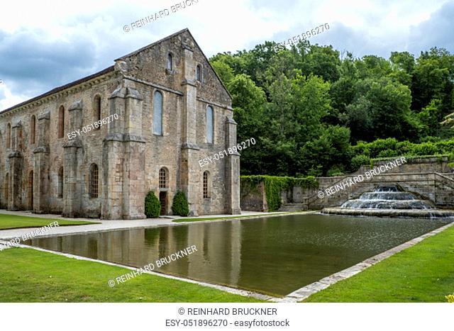 The Abbey of Fontenay is a former Cistercian abbey located in the commune of Marmagne, near Montbard, in the département of Côte-d'Or in France