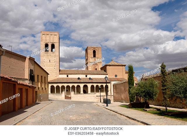 San Martin church of Arevalo, Avila province,Castilla-Leon, Spain