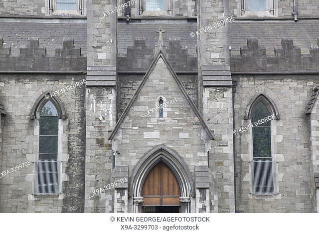 St Patricks Cathedral Facade, Dublin, Ireland