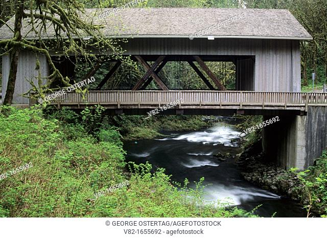 Cedar Creek Covered Bridge, Woodland, Washington