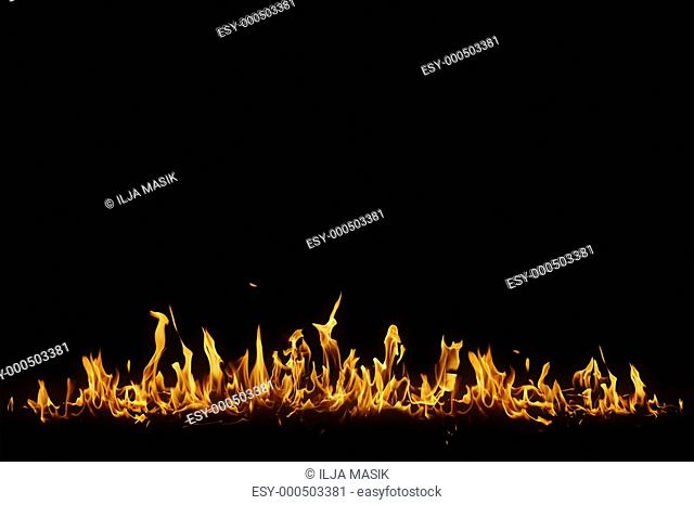 Isolated flame