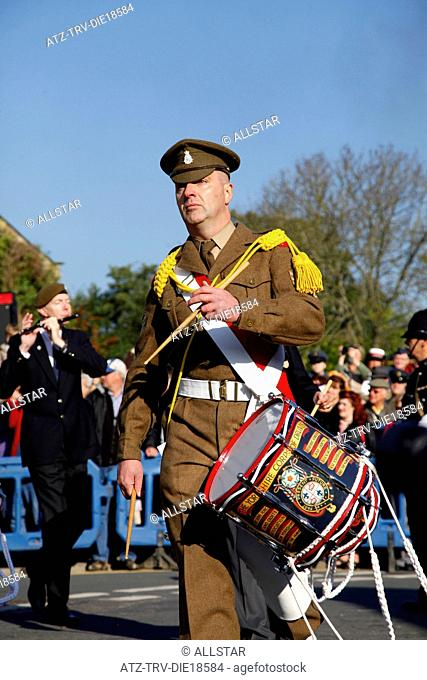 YORKSHIRE CORPS OF DRUMS MEMBER; PICKERING, NORTH YORKSHIRE; 15/10/2011