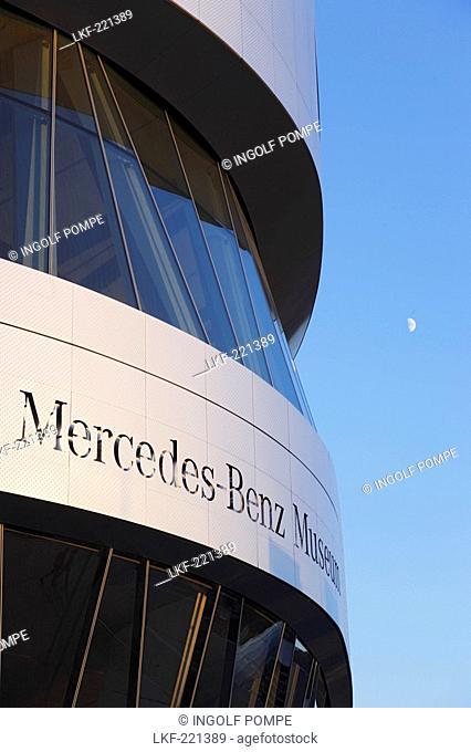 Mercedes-Benz Museum, Bad Cannstatt, Stuttgart, Baden-Wurttemberg, Germany
