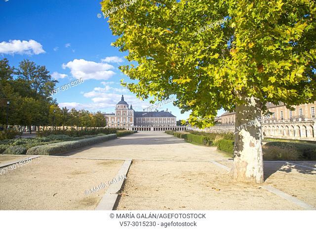 Royal Palace. Aranjuez, Madrid province, Spain