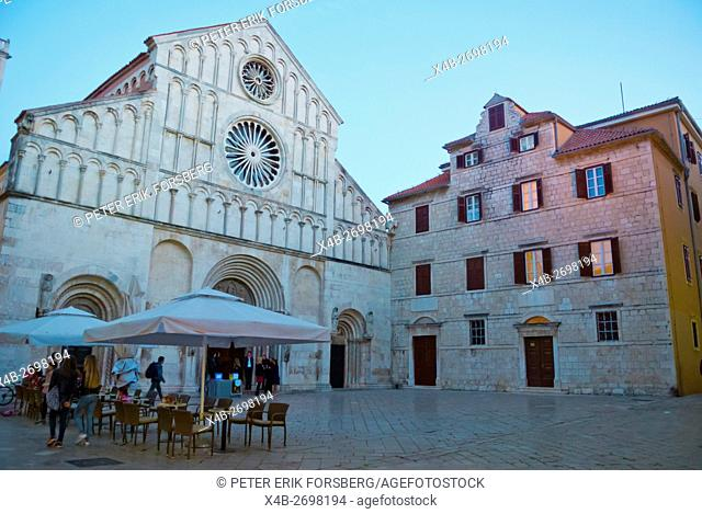 Cathedral of St Anastasia, Trg svete Stosije, old town, Zadar, northern Dalmatia, Croatia, Europe