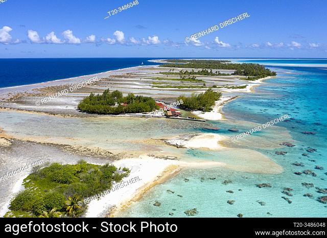 Impressions of Fakarava Atoll, Tuamotu Archipel, French Polynesia