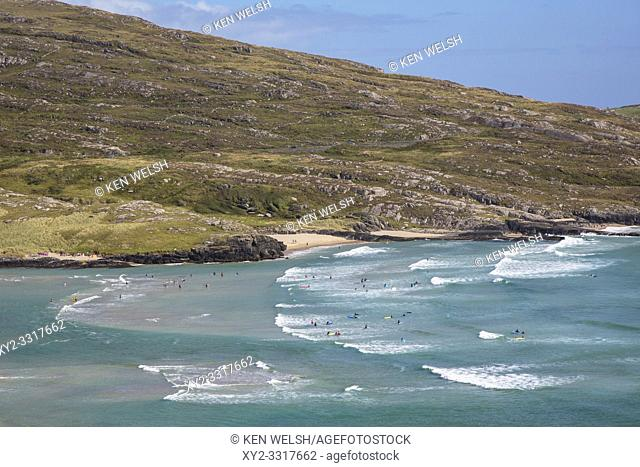 Barleycove beach, aka Barlycove beach on the Wild Atlantic Way, County Cork, Republic of Ireland. Eire