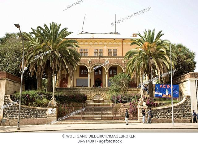 Theatre on the Harnet Avenue, built 1919/20 by the Italien, Asmara, Eritrea, Horn of Africa, East Africa