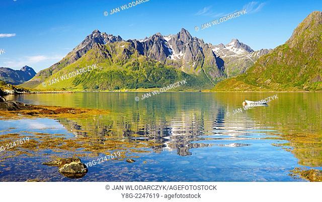 Austnesfjord, Lofoten Islands, Norway