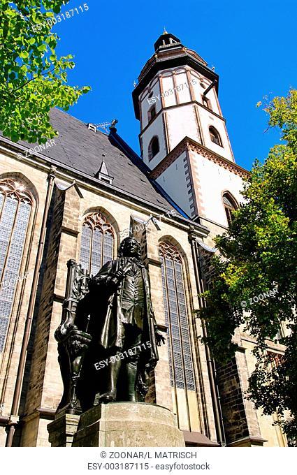 Leipzig Thomaskirche - Leipzig St. Thomas Church 02