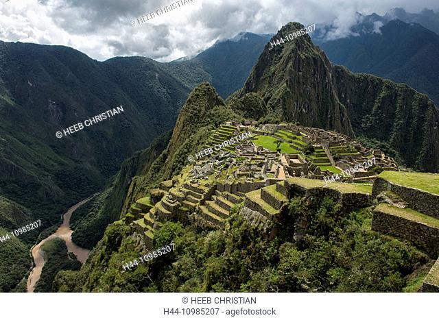 historical site of Machu Picchu, Lima