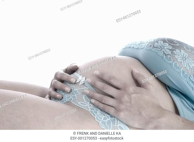 Pregant belly
