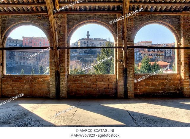 ex lanificio trombetta, città dell'arte, fondazione michelangelo pistoletto, loggia, biella, piemonte, italy