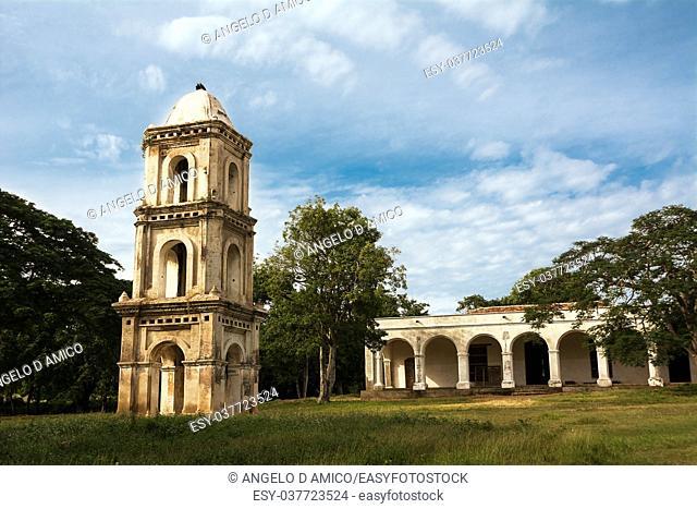 Watchtower of the slaves of the sugar fables San Isidro de los Destiladeros in Manaca Iznaca (Cuba)