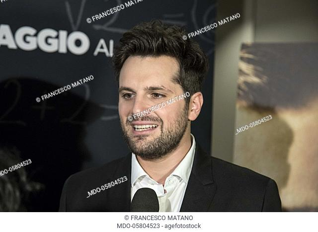 The italian actor Frank Matano (Francesco Matano) at the photocall of the film Tonno Spiaggiato, directed by Matteo Martinez with Frank Matano at the Cinema...