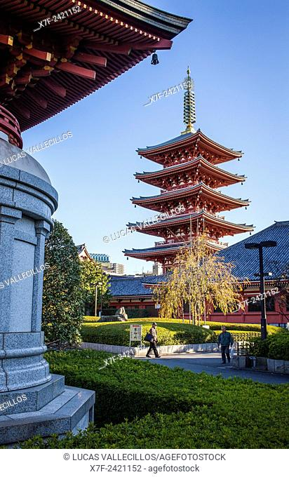 Senso-ji Temple, Asakusa,Tokyo, Japan
