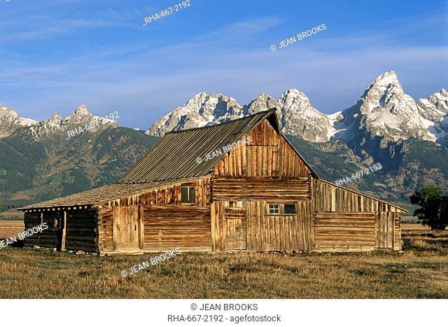 Moulton Ranch, Grand Teton National Park, Wyoming, United States of America, North America
