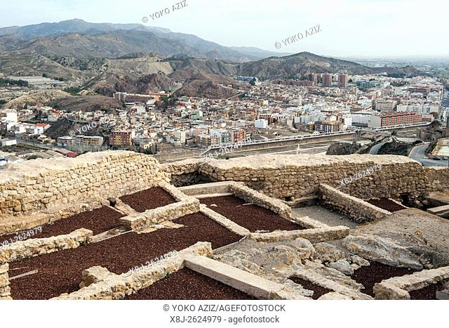 Spain, Murcia region, Lorca, landscape