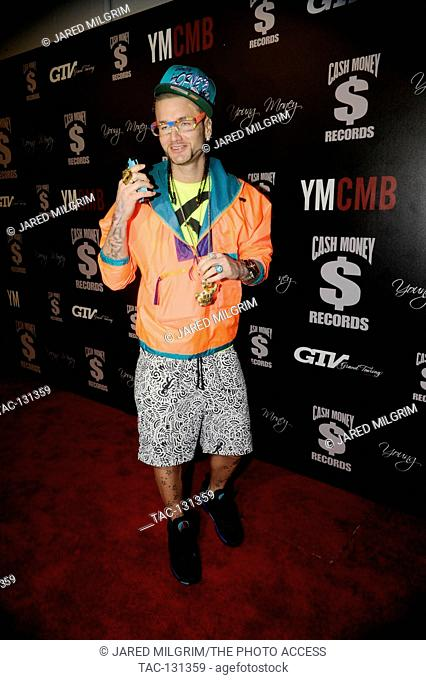 Riff Raff arrives at the Cash Money Records 4th annual pre-GRAMMY Awards party on February 9, 2013 in West Hollywood, California