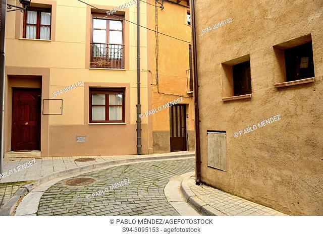 Aljama or jewish neighborhood in Berlanga de Duero, Soria, Spain