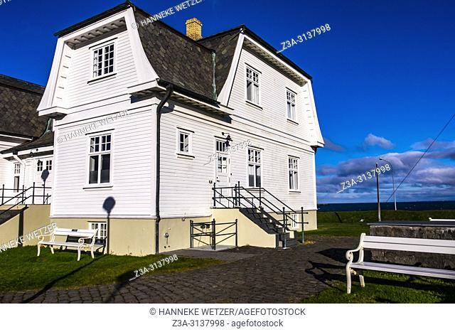 The Hofdi House in Reykjavic, Iceland