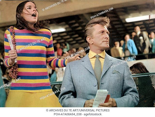 A Lovely Way to Die  Year: 1968 USA Ali McGraw, Kirk Douglas  Director: David Lowell Rich. It is forbidden to reproduce the photograph out of context of the...