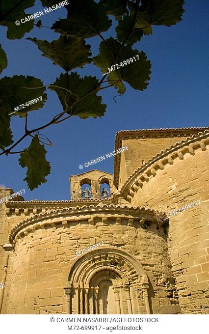 Sigena monastery, Sigena, Huesca,  Aragon, Spain