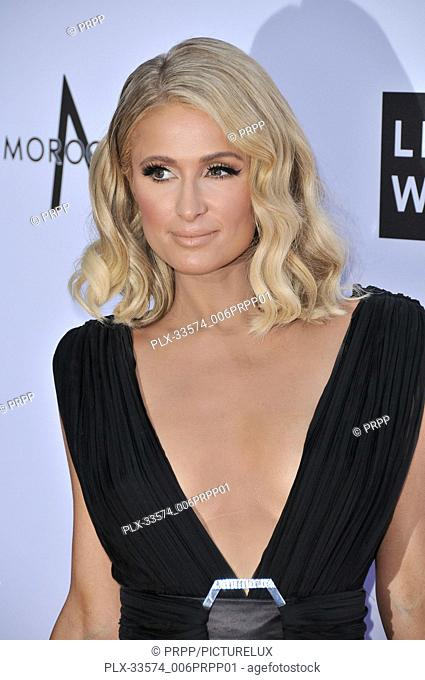 Paris Hilton at the 4th Annual Fashion Los Angeles Awards held at The Beverly Hills Hotel in Beverly Hills, CA on Sunday, April 8, 2018