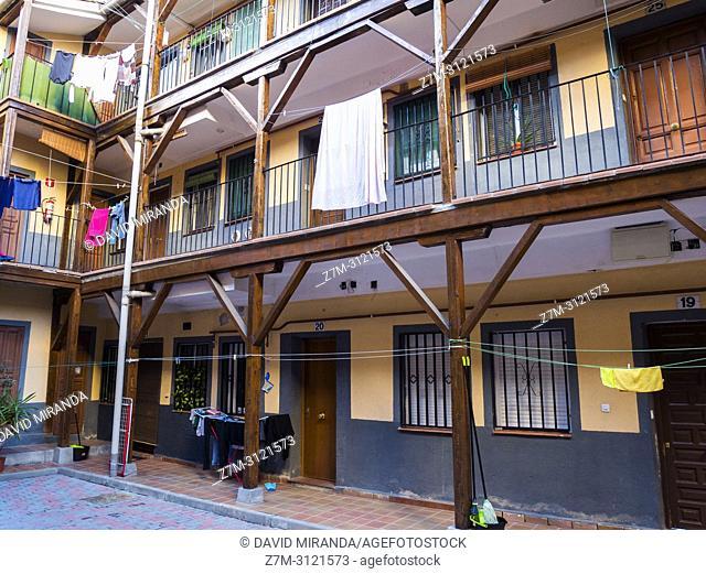 Antigua Corrala. Madrid, Spain