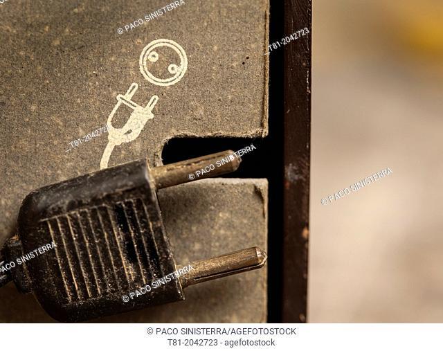 Old plug indicator