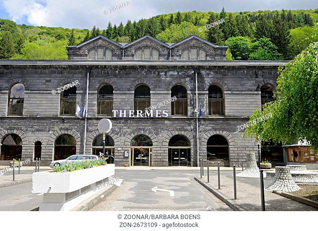 Etablissement Thermal, thermal bath, Mont-Dore, Auvergne Region, France, Europe, Etablissement Thermal, Thermalbad, Mont-Dore, Region Auvergne, Frankreich